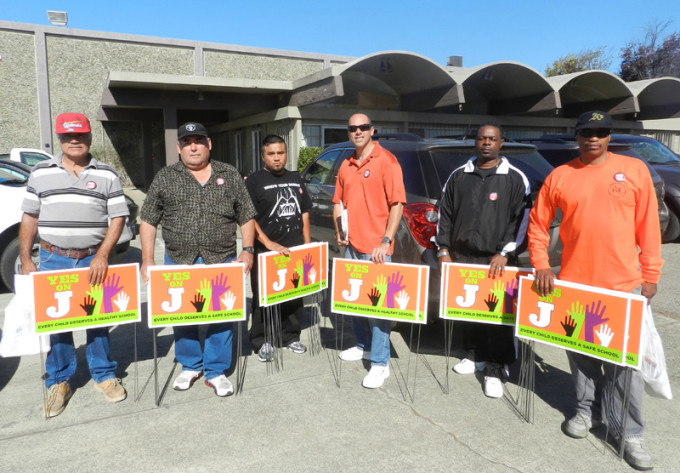 Laborers union members worked to get out the vote for the November 2012 election.