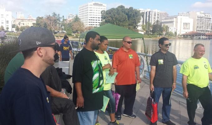 Training for the Precinct Walk for Abel Guillen, September 27!